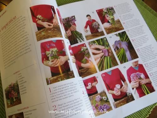 Flower Magazine Spring 2013 Review-My Flower Journal,com