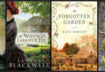 Favorite Fiction Books With Flower Gardens