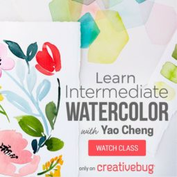 Take a look at all of Yoa Cheng's great watercolor classes on Creativebug.
