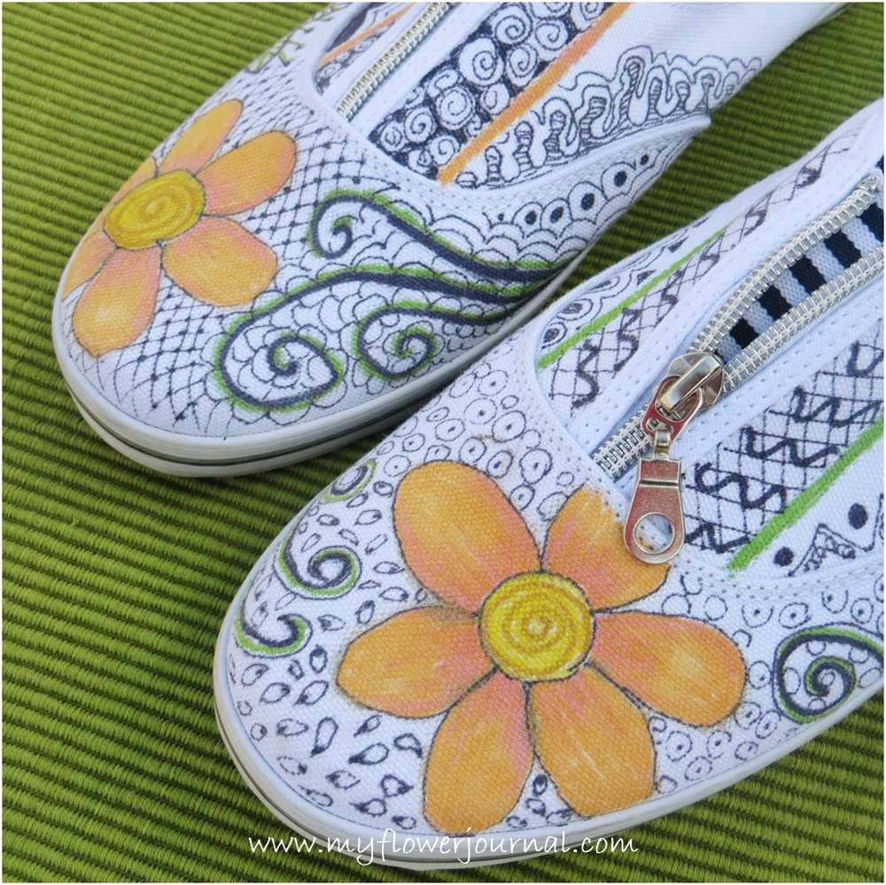 Gravity shoes for Fun crafts for all ages