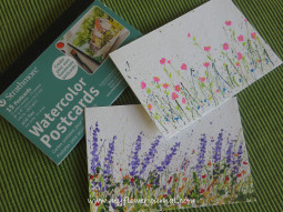 Splattered Paint Flower Garden Cards-myflowerjournal (2)
