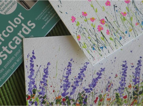 Splattered Paint Flower Garden Cards-myflowerjournal (3)