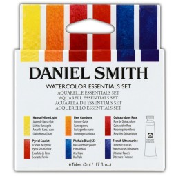 I like to use the Daniel Smith Watercolor Essential Set-myflowerjournal