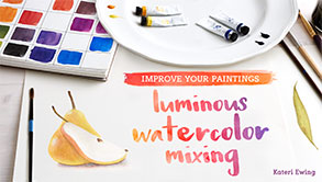 Luminous Watercolor Mixing Class on Craftsy