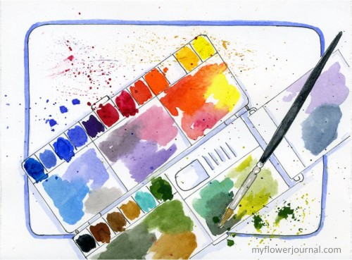 5 Easy Clean Up Ideas for Messy Art Projects-myflowerjournal
