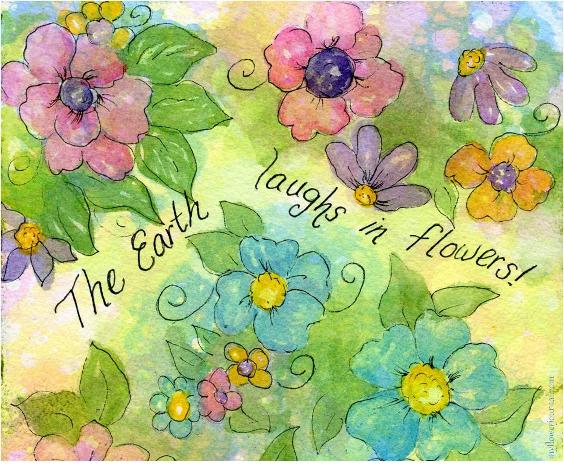 Bubble Painting Flower Art My Flower Journal
