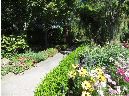 Path Inside the Secret Garden at Thanksgiving Point a Utah Garden-myflowerjournal