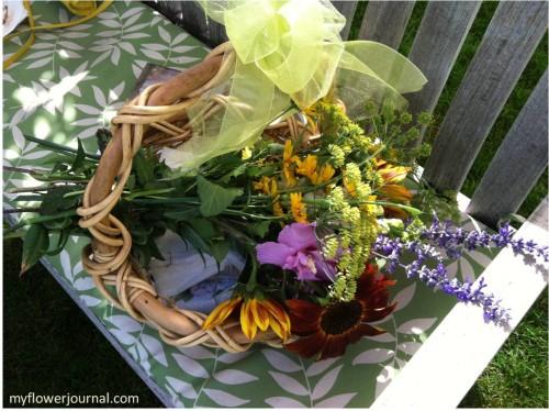 Book Group In The Garden-myflowerjournal