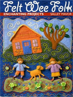 Book Review of Wee Felt Folk by Salley Mavor-myflowerjournal.com