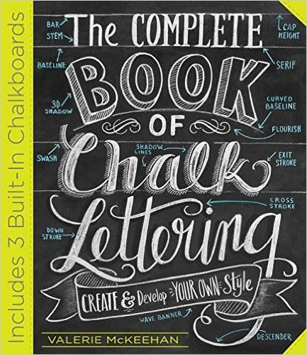 Great book all about chalk art by Valorie Mckeehan-review by myflowerjournal