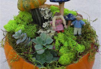 Wee Folk Pumpkin Garden