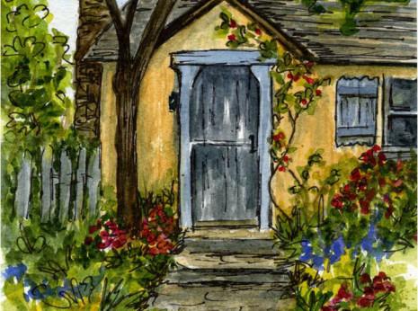 Thinking about Carmel-byThe Sea-Sunwise Turn Cottage-myflowerjournal