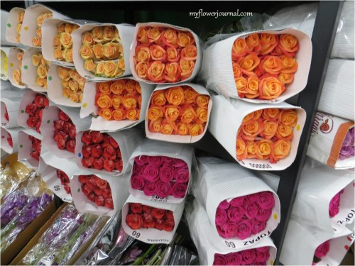 Flowers in NYC Flower Market-myflowerjournal