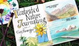Illustrated Nature Journaling Class on Craftsy