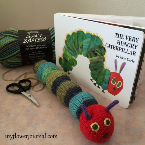A Hungry Caterpillar In My Garden - My Flower Journal