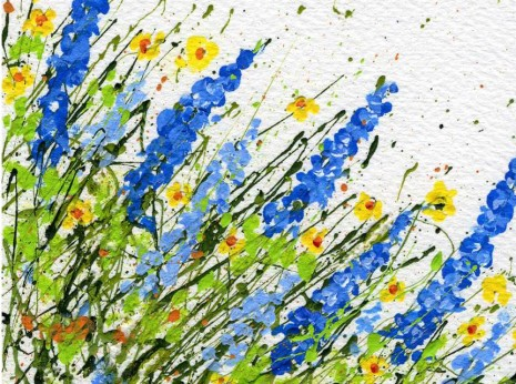 A Differnent Angle on Splatter Painting-myflowerjournal