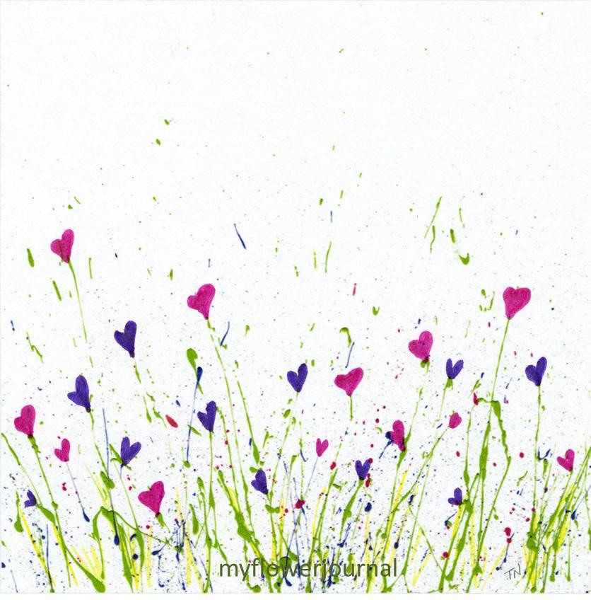 free printable for splattered paint flower art my flower Valentine Clip Art Free Downloads For Valentine's Day Clip Art for Free