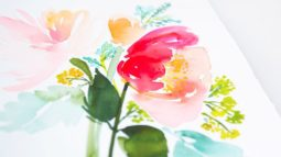 Yoa Cheng's watercolor classes on creative bug.