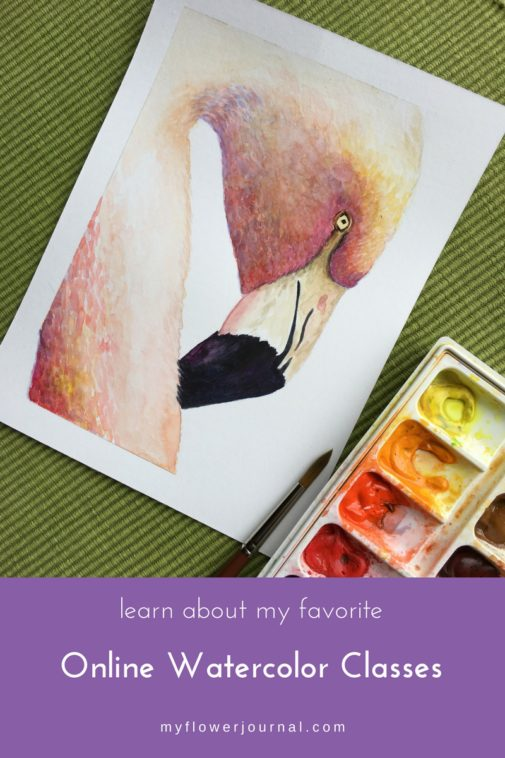 I love to take online watercolor classes Learn about some of my favorites. From myflowerjournal.com.jpg